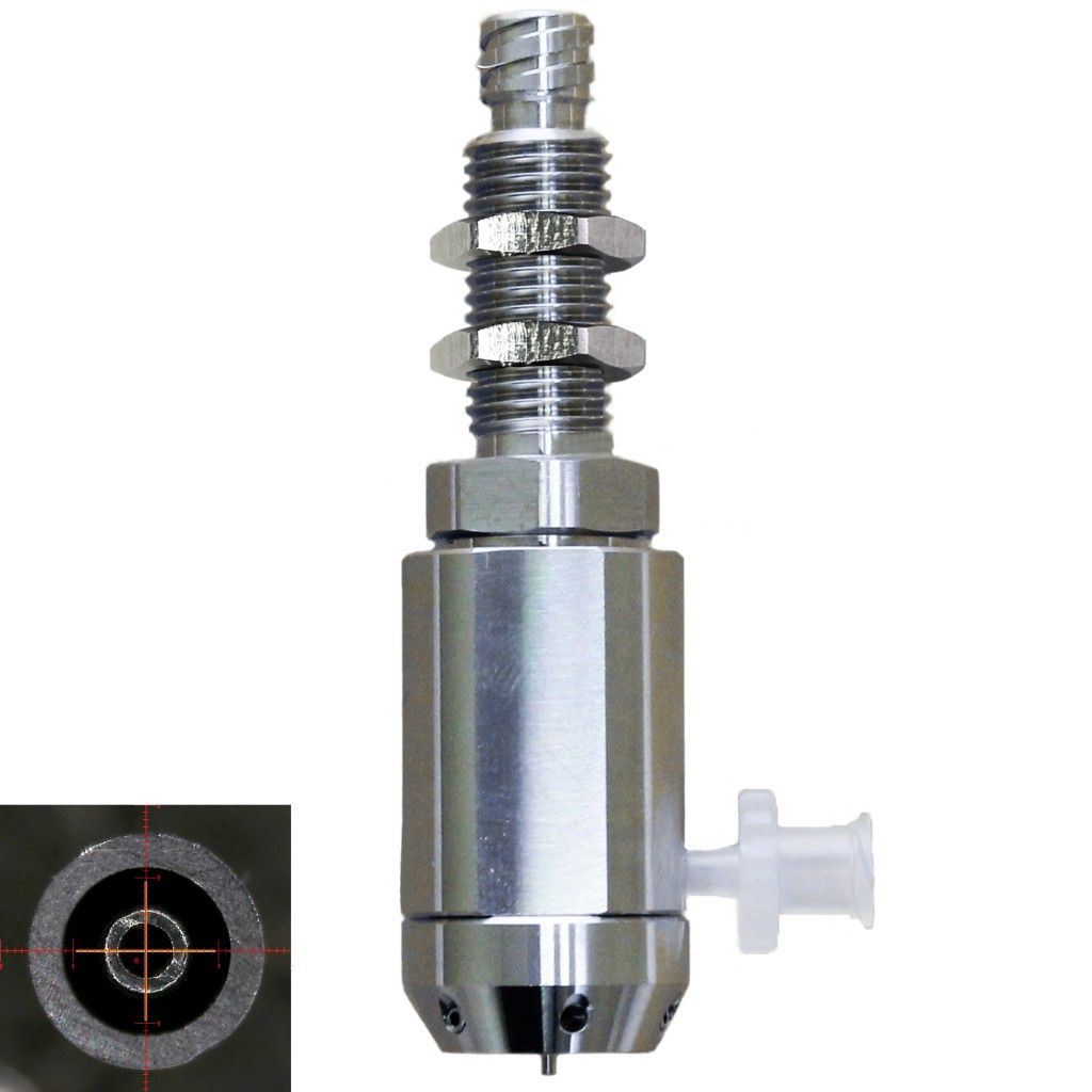coaxial nozzle-replaceable type(inner nozzle)