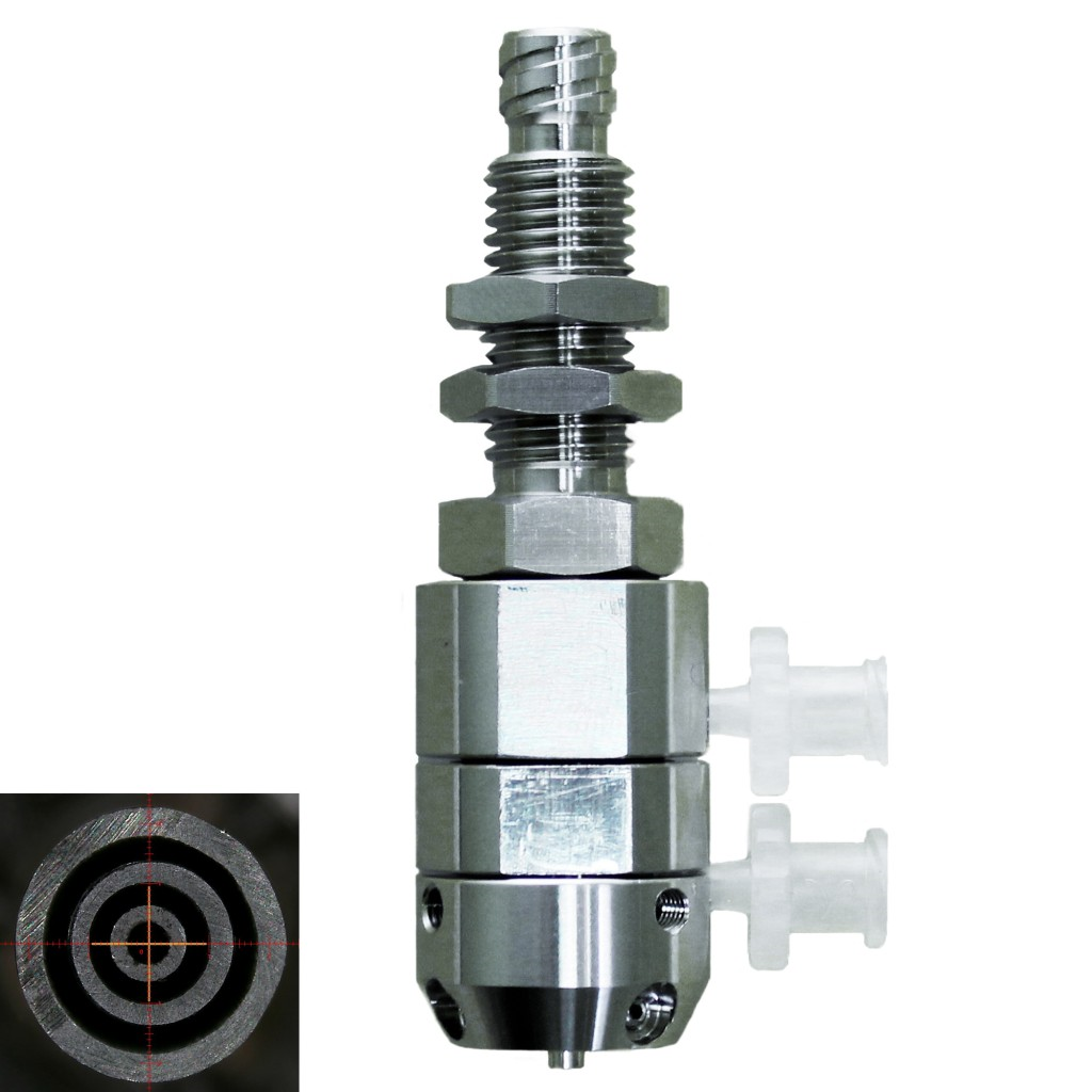 triple coaxial nozzle-fixed type